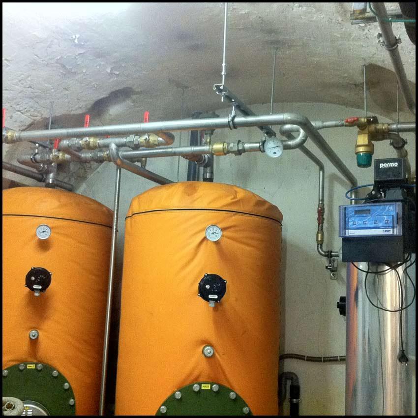 PVCF plomberie réseaux acier inoxydable