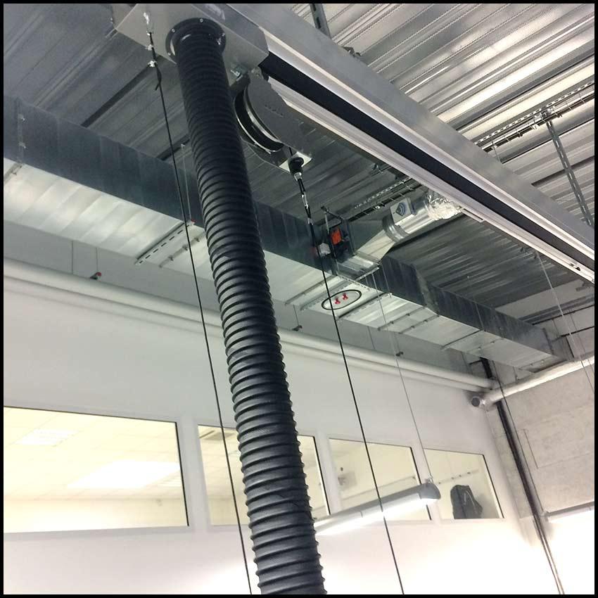PVCF ventilation - échappement du gaz dans les garages