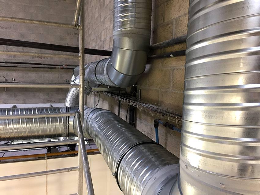 PVCF ventilation réseaux gaine-extraction