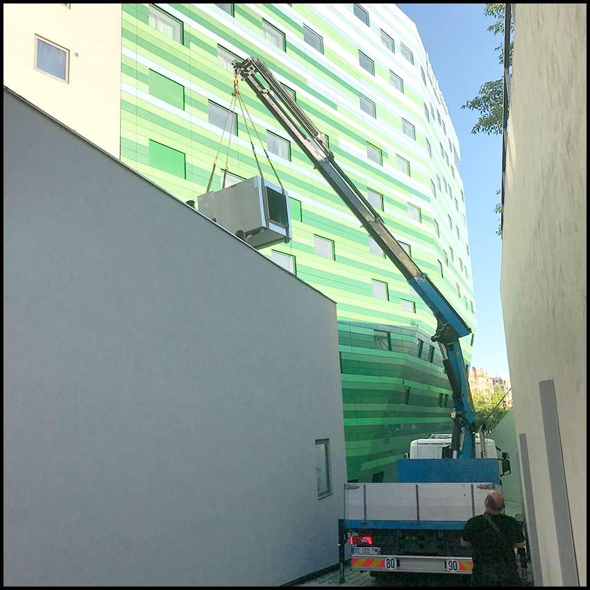 PVCF ventilation réseaux montage - gruttage