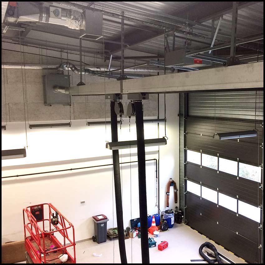 PVCF ventilation réseaux montage