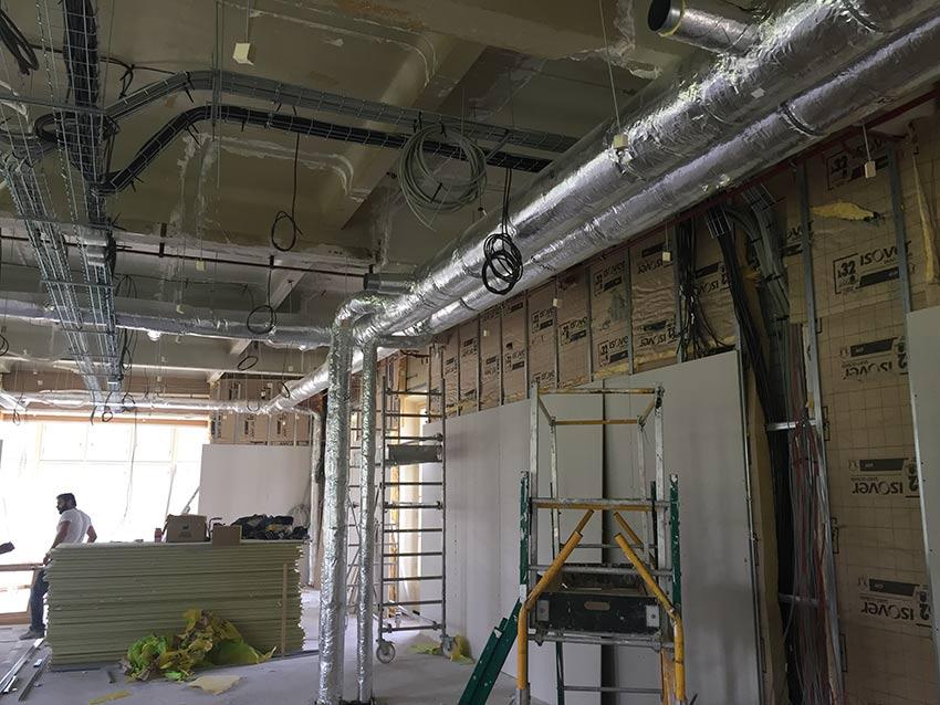 PVCF ventilation réseaux