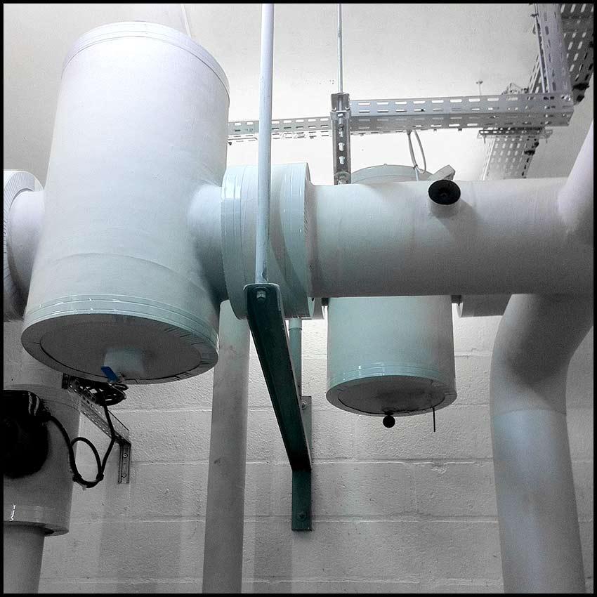 PVCF Chauffage - bouteilles de dégazage