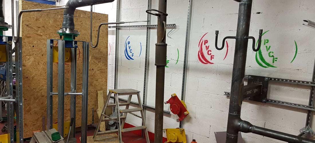 PVCF atelier de préfabrication