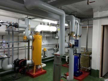 PVCF maintenance chaufferie